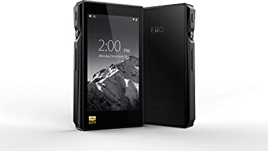 FiiO X5 Mark III Hi-Res Certified Lossless Music Player with Touch Screen Android OS and 32GB Storage (3rd Gen, Black)