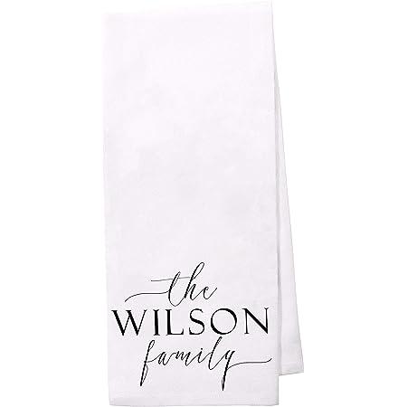 DISH CLOTH PERSONALIZE YOUR OWN FARMHOUSE FLOUR SACK KITCHEN HAND TOWEL