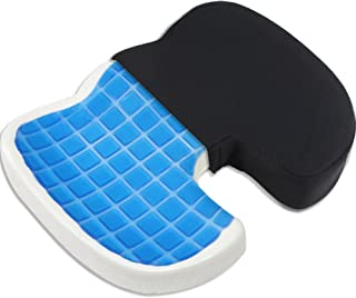 Proveon gel-zitkussen – stuitbeenkussen van visco-geheugenschuim