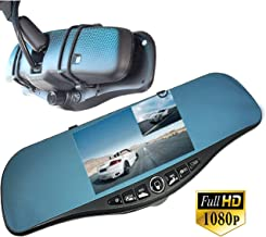 ICBEAMER Rear View Mirror 1080P FHD DVR Car Camera Recorder 5
