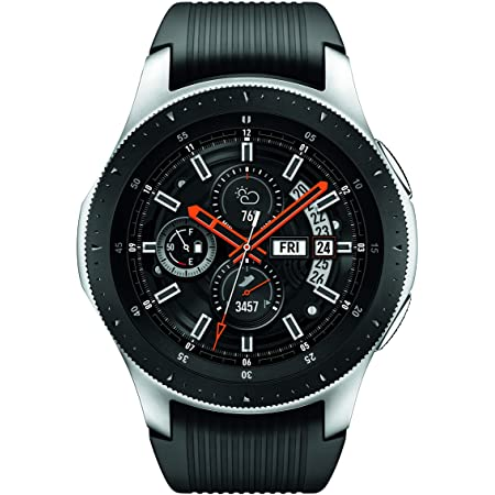 Samsung Galaxy Watch SM-R800 (Silver/シルバー) 並行輸入品 (46mm)