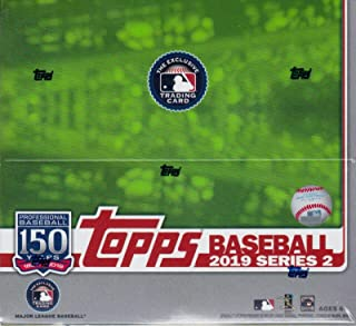 Topps 2019 Baseball Series 2 Retail Display Box (24 Packs)