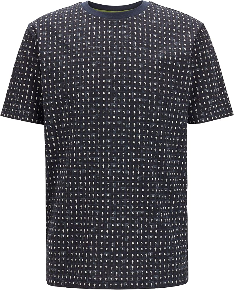 Boss tepol t-shirt,maglietta per  uomo,100 % cotone 50434895