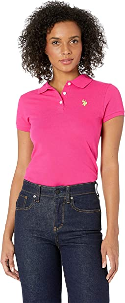 Neon Logo Polo Shirt