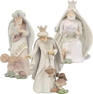 Grasslands Road Three Wise Men Figurines, 6-Inch, White, Set of 3