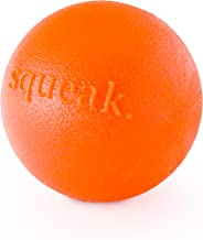Planet Dog Orbee-Tuff Squeak Ball – Nearly Indestructible Dog Ball, Tough and Durable Dog Chew-Fetch Toys for Chasing, Retrieving and Training - Medium 3-Inch Dog Ball.