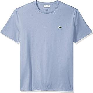 Lacoste mens Short Sleeve Crew Neck Pima Cotton Jersey T-shirt T-Shirt