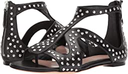 Alexander McQueen Caged Flat Sandal with Hammered Studs