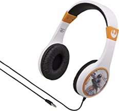 Star Wars Kid Friendly Wired Headphones Volume Limited for Safe Listening for Kids
