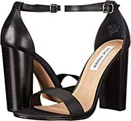 89b24ff0db5 Black Leather. 348. Steve Madden. Carrson Heeled Sandal