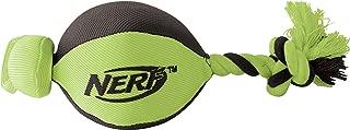 Nerf Dog VP6606E Football Catapult Launcher–Football, Green/Orange