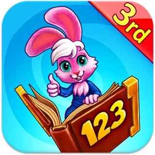 Wonder Bunny Math Race: 3rd Grade Advanced Learning App