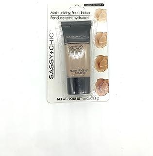 Sassy+Chic Moisturizing Make-up Foundation, Medium 1, Net wt 1.0 Oz