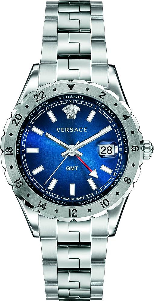 Versace  ,orologio unisex,in acciaio V11010015