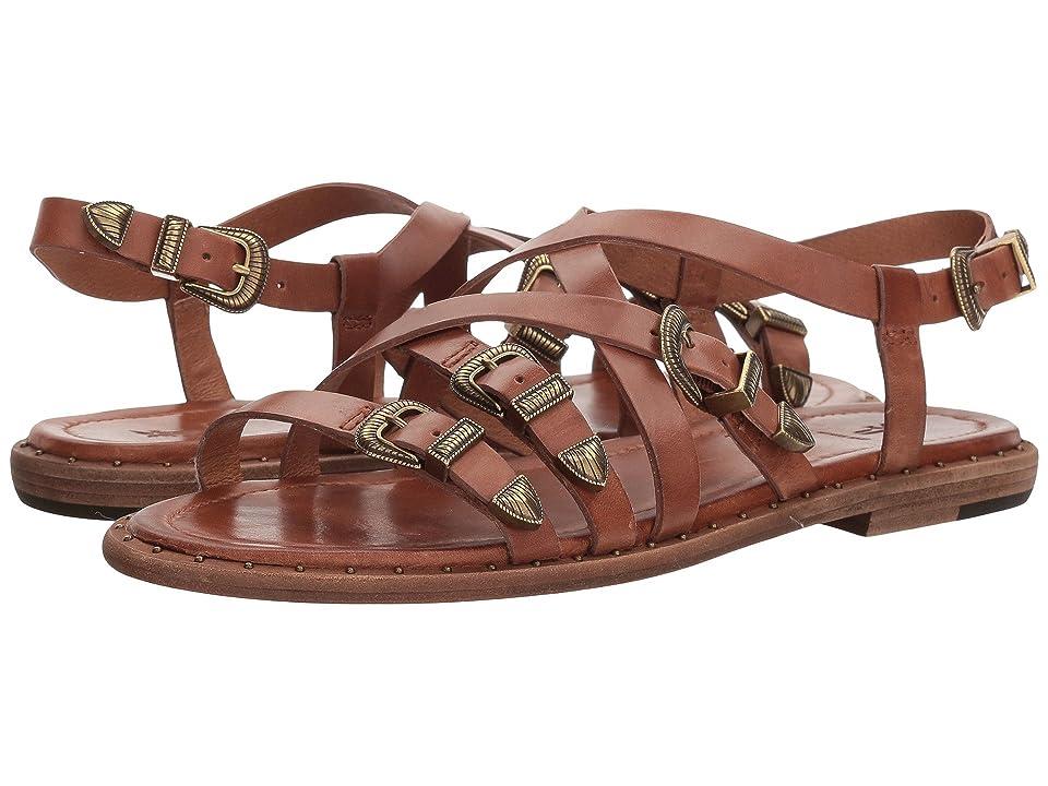 Frye Blair Western Sandal (Cognac) Women