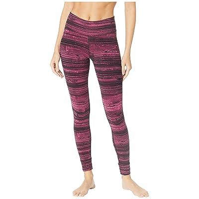 Reebok Lux Tights Stratified Stripes (Twisted Berry) Women