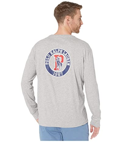 Polo Ralph Lauren Classic Fit Graphic T-Shirt (Grey Heather) Men