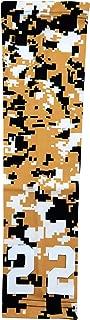 Sports Farm - Custom Number Gold Black White Digital Camo Arm Sleeve