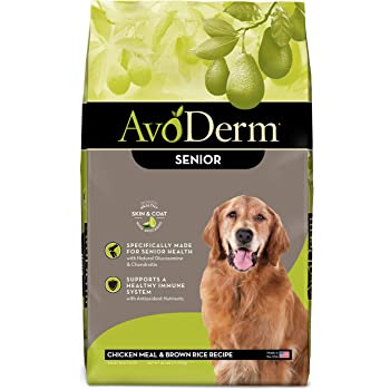 AvoDerm Natural Chicken Meal & Brown Rice