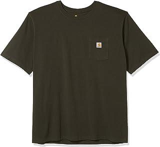 Relaxed Fit T-Shirt Camisa de utilidades de Trabajo para Hombre