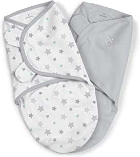 Summer Infant Original Swaddle Me, Small, Starry Skies, Pack of 2