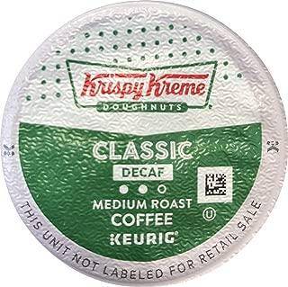 Krispy Kreme House Decaf Medium Roast Coffee K-Cups 24 COUNT (2PACKS) total 48 K-Cups