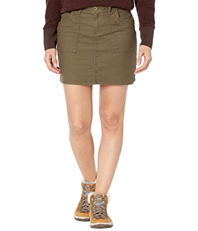 Prana Nikit Skirt (Slate Green) Women