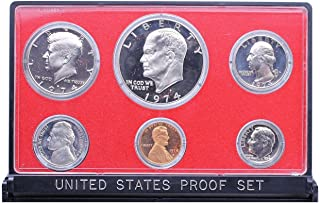 1974 S US Mint 6-Piece Proof Set with Proof Ike Dollar Proof OGP
