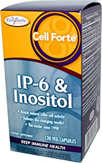 Enzymatic Therapy Cell Forte IP-6 Inositol 120 Veggie Caps
