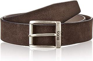 Hugo Boss Men's Jordin Soft Suede Leather Belt