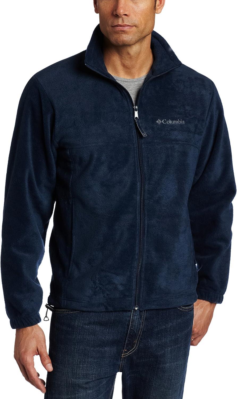 Columbia Men/'s Steens Mountain Half Zip Soft Fleece Jacket 1620191-464 Navy