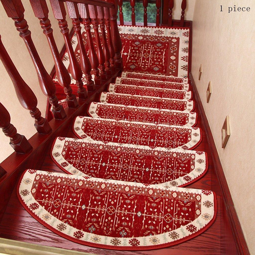 Pegamento Gratis Autoadhesivo Mezclado Almohadilla de la Escalera Step Mat Escaleras de Caracol de Madera Maciza Antideslizantes para el hogar (Color : 14, Tamaño : 24 * 100cm): Amazon.es: Hogar