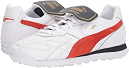 Puma White/Puma Red