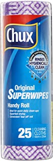 Chux Original Superwipes Handy Roll,  25 count