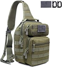 Tactical Sling Bag Pack Military Rover Shoulder Sling Backpack Molle Assault Range Bags Chest Pack Day Pack Diaper Bag