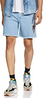 River Men's Regular Fit Denim Shorts