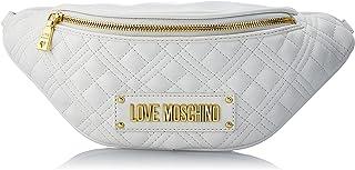 Love Moschino, Damen-Gürteltasche, Kollektion Herbst Winter 2021, Weiß, U