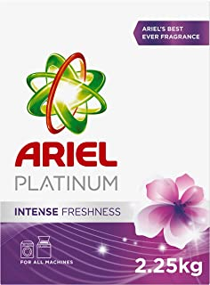 Ariel Platinum Automatic Intense Freshness Laundry Powder Detergent, 2.25 kg - Pack of 1