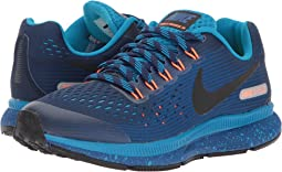 Nike Kids - Air Zoom Pegasus 34 Shield (Little Kid/Big Kid)