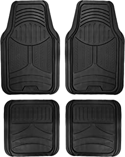 FH Group F11313BLACK Rubber Floor (Black Full Set Trim to Fit Mats)