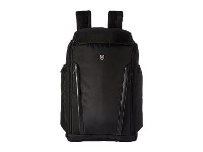 Victorinox Altmont Professional Fliptop Laptop Backpack (Black) Backpack Bags