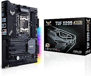 ASUS TUF X299 Mark 2- Placa base ATX para CPU Intel serie X LGA 2066 con Thermal Armor, DDR4 4133 MHz, dos M.2, soporte Intel VROC, Intel Optane™, SATA 6 Gb/s, USB 3.1 Gen. 2