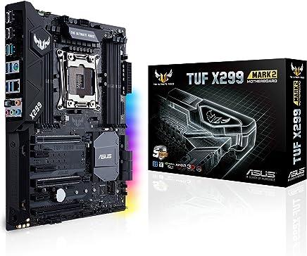 ASUS TUF X299 Mark 2 LGA2066 DDR4 M.2 USB 3.1 X299 ATX Motherboard for Intel Core X-Series Processors