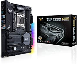 ASUS TUF X299 Mark 2 LGA2066 DDR4 M.2 USB 3.1 X299 ATX Motherboard for Intel Core..