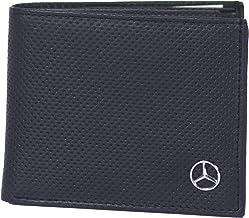 Mercedes DP2 - Cartera de piel auténtica, color negro