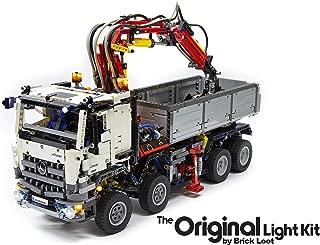 Brick Loot Lighting Kit for Your Lego Mercedes-Benz Arocs 3245 Set #42043