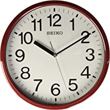 Seiko Wall Clock (Red)