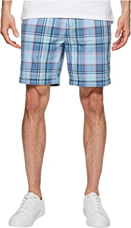 Nautica Roadmap Plaid Shorts