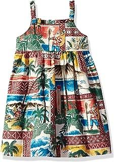 Girls Hawaiian Christmas Toddler Sundress