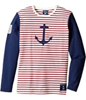 Toobydoo - Anchor's Away Long Sleeve Tee (Toddler/Little Kids/Big Kids)